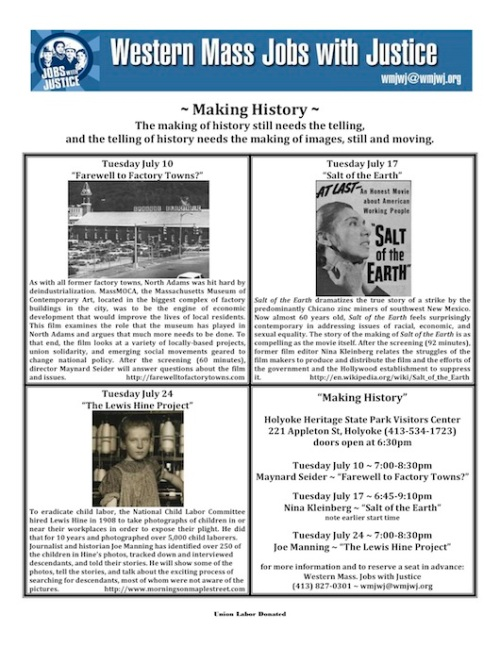 Making History flyer